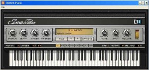 Elektrik Piano - It looks like a vintage electric piano, it sounds like a vintage electric piano.