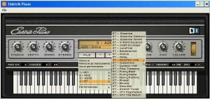 Elektrik Piano - The presets range from the vanilla instrument to heavily-processed sounds.