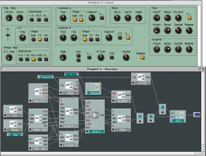 A soft synth with analogue controls