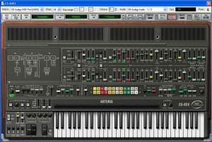 Arturia's CS-80V is a superb emulation of Yamaha's classic analogue synth (click to enlarge)