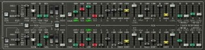 CS-80V Oscillators - Two sets of identical controls make it easy to compare settings.