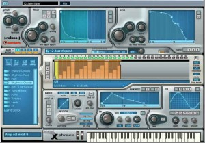 Steinberg's Xphrase can not only create and manipulate drum loops but polyphonic melodic loops, too.