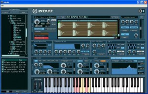 Native Instruments' Intak sampler slices and dices, creating rhythms out of loops.