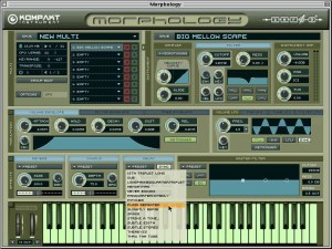 Morphology has over 300 presets.