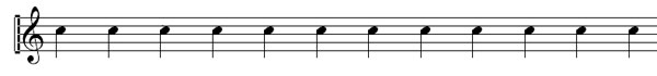 Time Signatures example 1