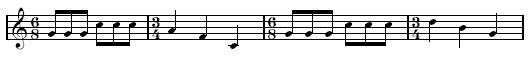 Time Signatures 16a - The 3/4-6/8 pulse of Bernstein's America.