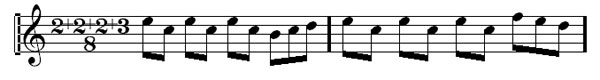 Time Signatures 18 - Blue Rondo a la Turc's alternate way of grouping a 9/8 time signature.