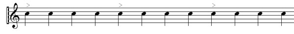 another time signature example
