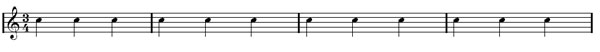 bar lines and time signatures