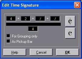 Time signatures in Cubase
