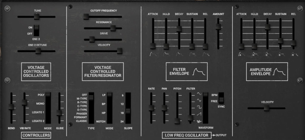 Syntronik controls