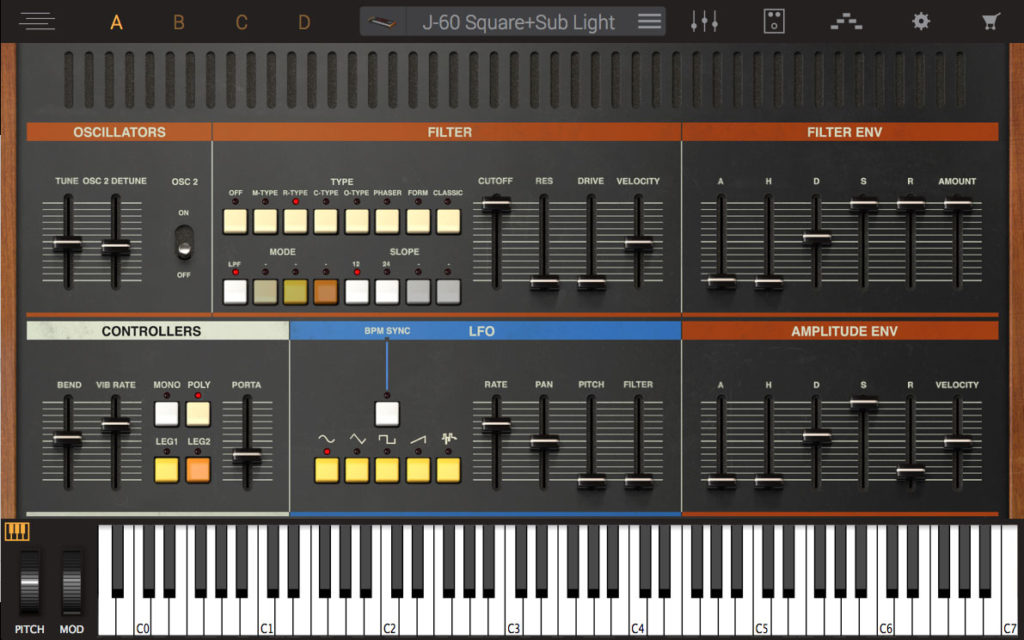 Syntronik photo realistic synth