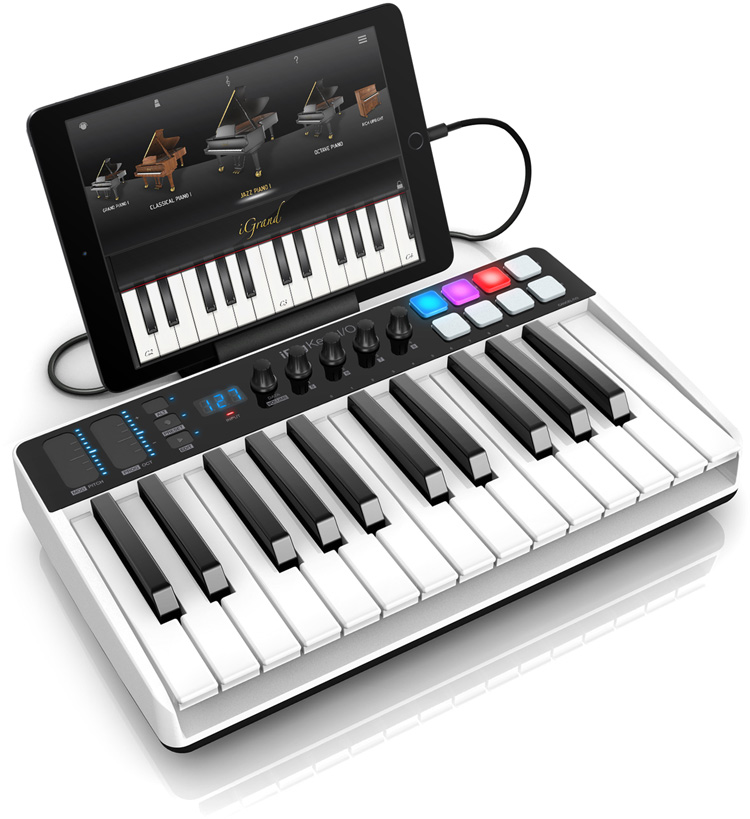 IK Multimedia iRig Keys 25-key REAR