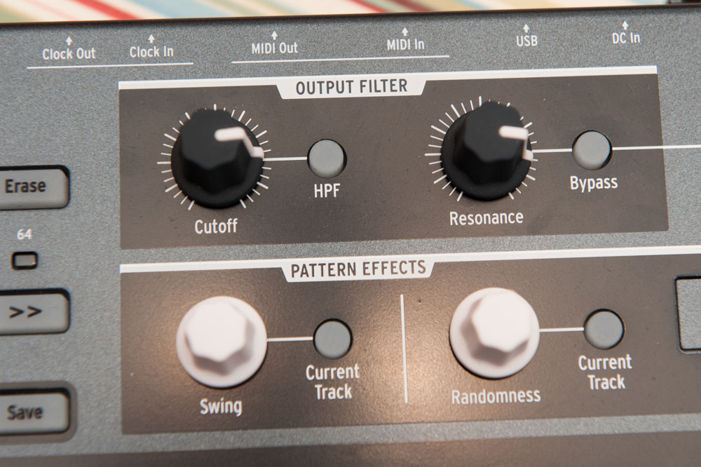 Drumbrute output filter