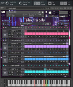 Electro City main screen