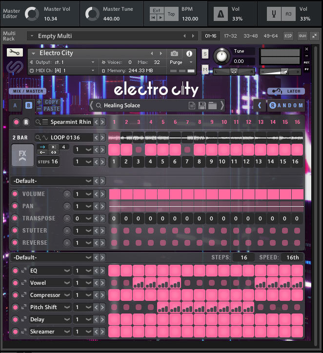 Electro City screenshot
