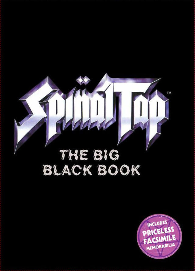 Spinal Tap Big Black Book MAKING MUSIC