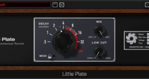 Sound Toys Little Plate reverb