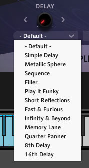 Trailer Expressions delay presets