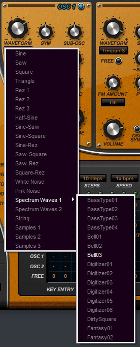SubBoomBass 2 Spectrum Waveforms
