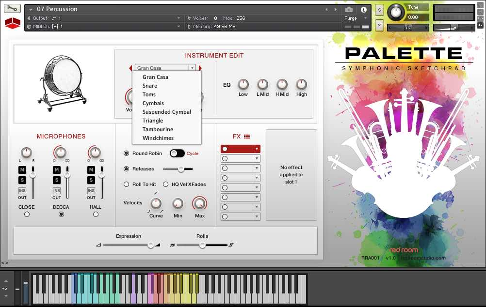 Review: Red Room Palette - Part One - Making Music