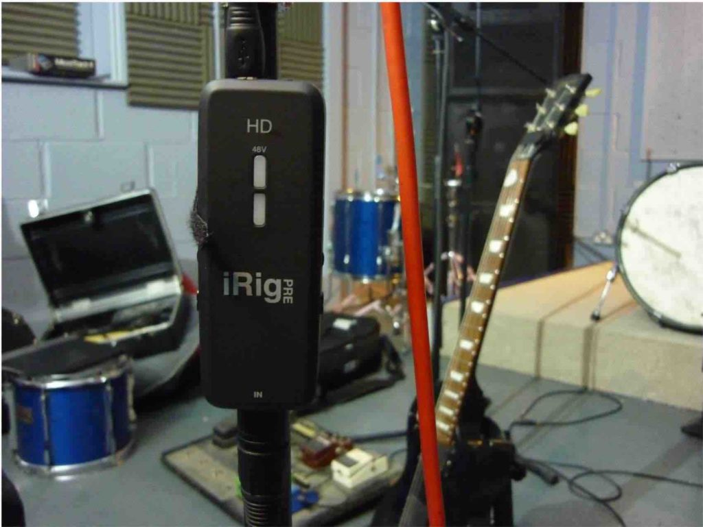 iRig On Mic Stand