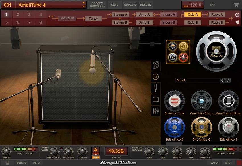 amplitube4 plugin cab speakerswap gen making music. Black Bedroom Furniture Sets. Home Design Ideas