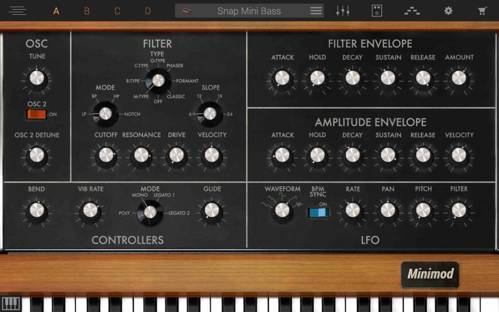 Syntronik Synth Interface